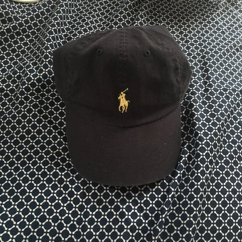 95707ad9 Navy leather strap polo cap never worn #polo #supreme #guess - Depop