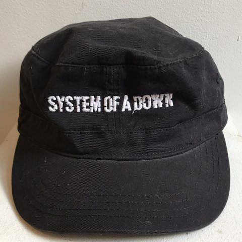 d2c7a3a4 System of a Down hat #y2k #90s #systemofadown #2000s - Depop