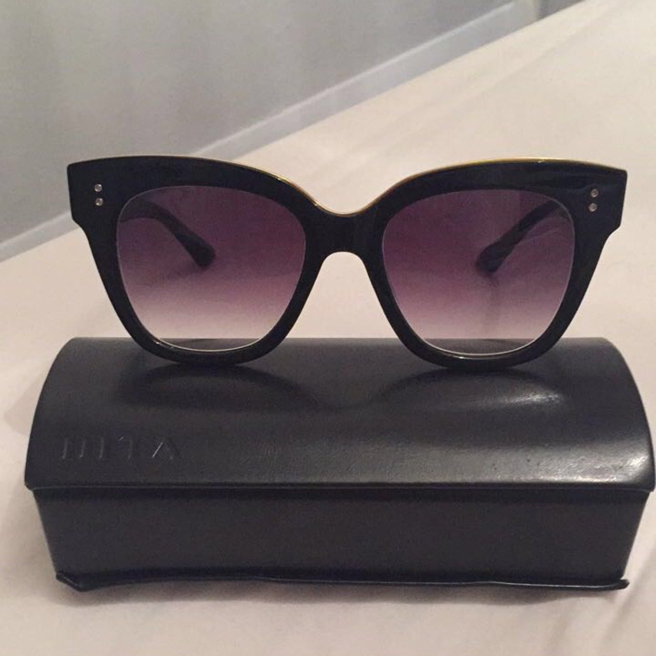 5a9e680db5ad Designer Dita sunglasses purchased as a gift from seen . on - Depop