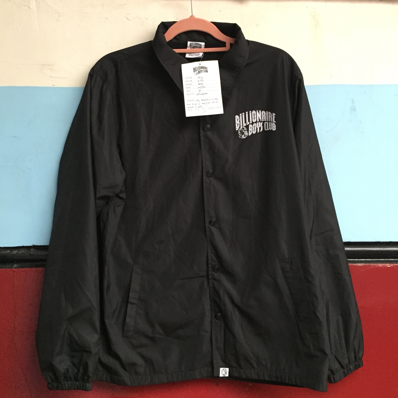 Another Black BBC sample coach jacket this one    - Depop