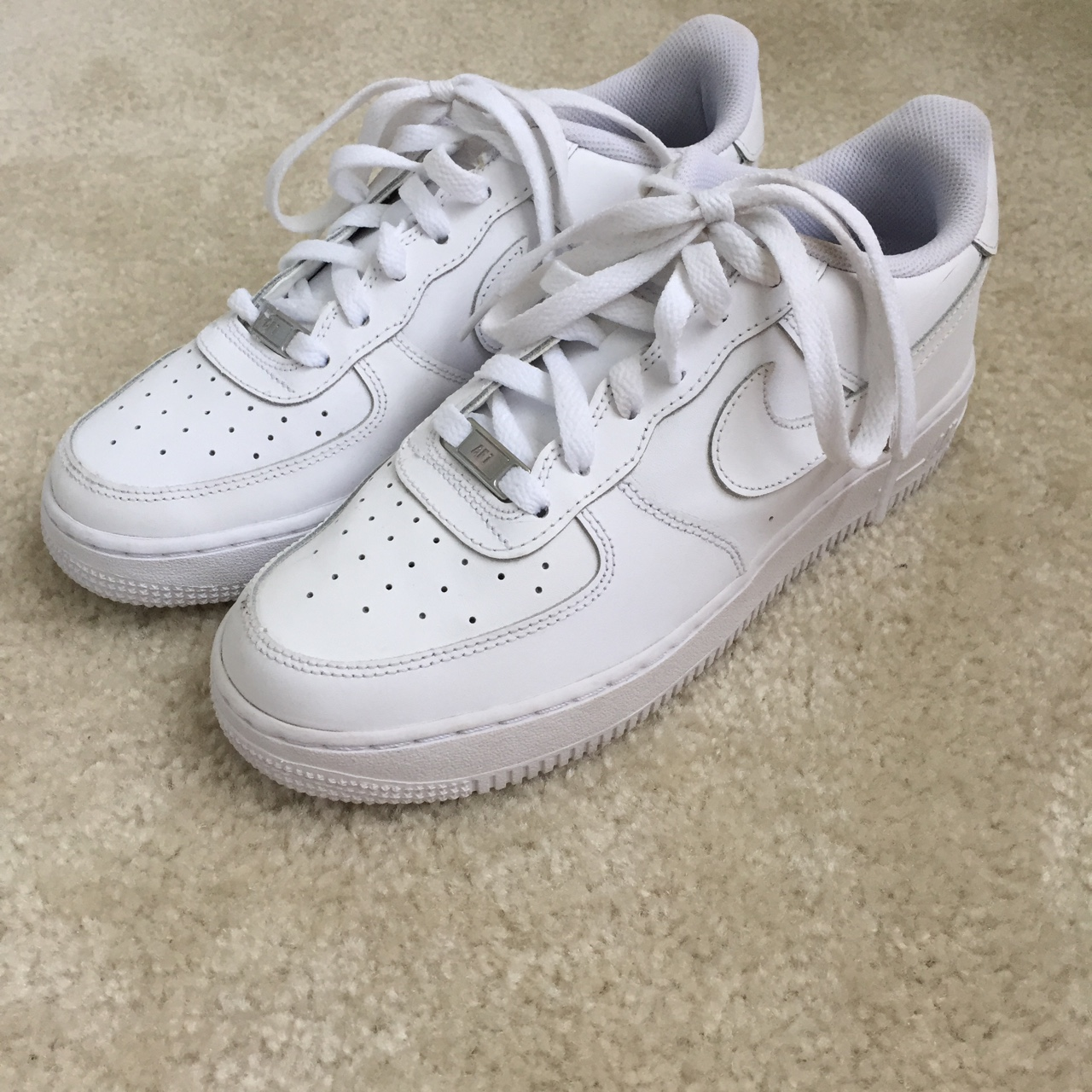 Nike Air Force 1 In Youth Size 7 Which Is A Women S Depop