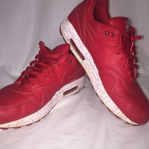 buy popular babe5 d5452 Nike Air Max 1 Red Red- 0