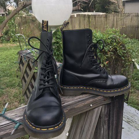 439bdf96a1d @elliejane19. 5 months ago. Winter Park, United States. Dr. Martens AirWair  10 hole boots. US Women's size 7 ...