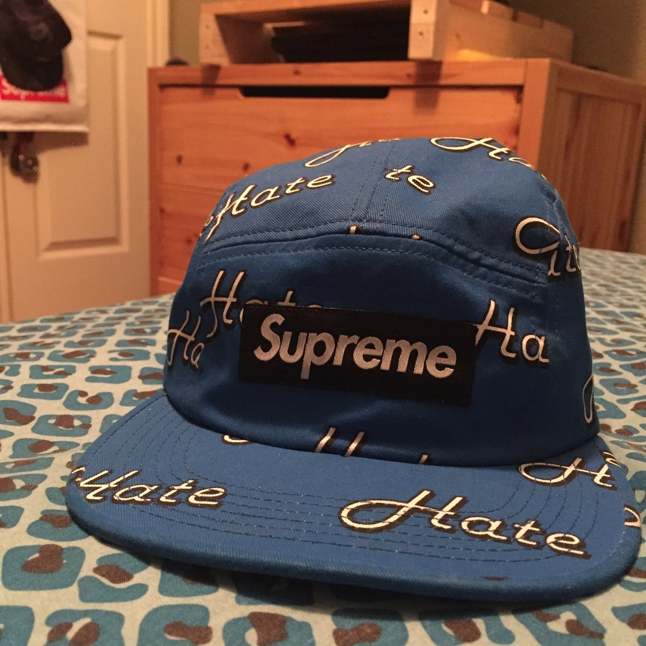 d003b88cd1d Supreme hate camp cap. It is in mint condition - Depop