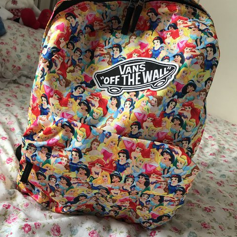 d371f21d5ed @robbyngriffiths. 2 years ago. Houghton le Spring, United Kingdom. Disney  princess vans backpack