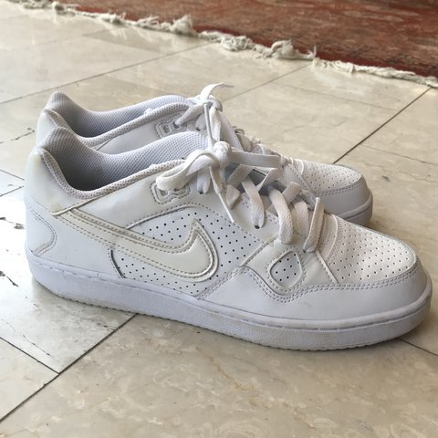 ALL WHITE NIKE AIR FORCE 1 lookalikes... super comfy worn is - Depop f42dd12ba