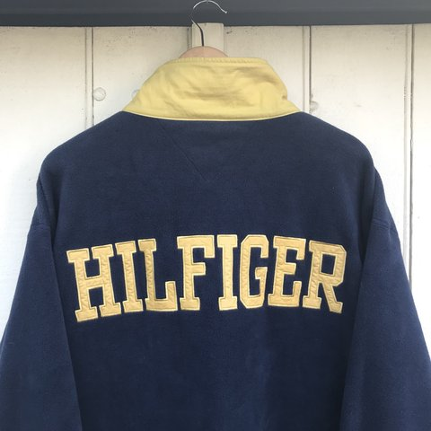 5f8a904d @10wardd. last year. Worcester, United Kingdom. Vintage Tommy Hilfiger/Tommy  Jeans athletics big spellout ...