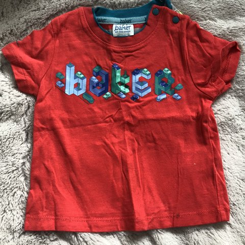 abd4b94215b7 Baby boy ted baker top. Size 3-6 months only worn once for a - Depop