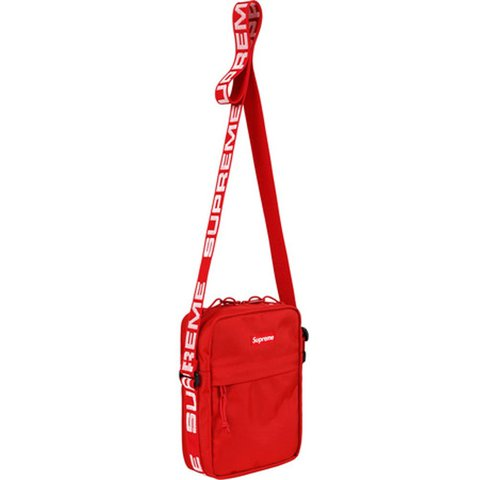 8923c841748d03 @aseelali. last year. San Diego, United States. Supreme Red Shoulder Bag  SS18