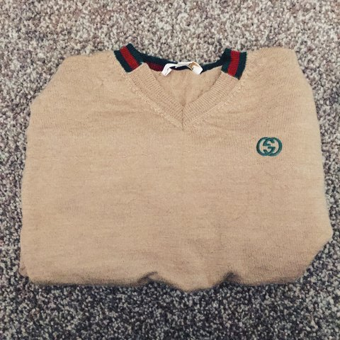 b615182f89f0 100% authentic boys Gucci jumper, worn about 2/3 times, from - Depop