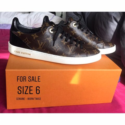 befeaf2af80f LOUIS VUITTON TRAINERS Size 6 Worn Twice! Basically Brand to - Depop