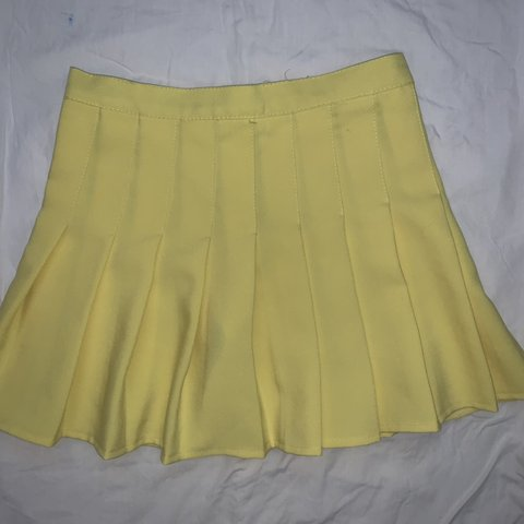 53a3ef61543b @vaporbabe. 4 months ago. Sandy Springs, United States. SIMILAR TO american  apparel yellow pleated tennis skirt! ...