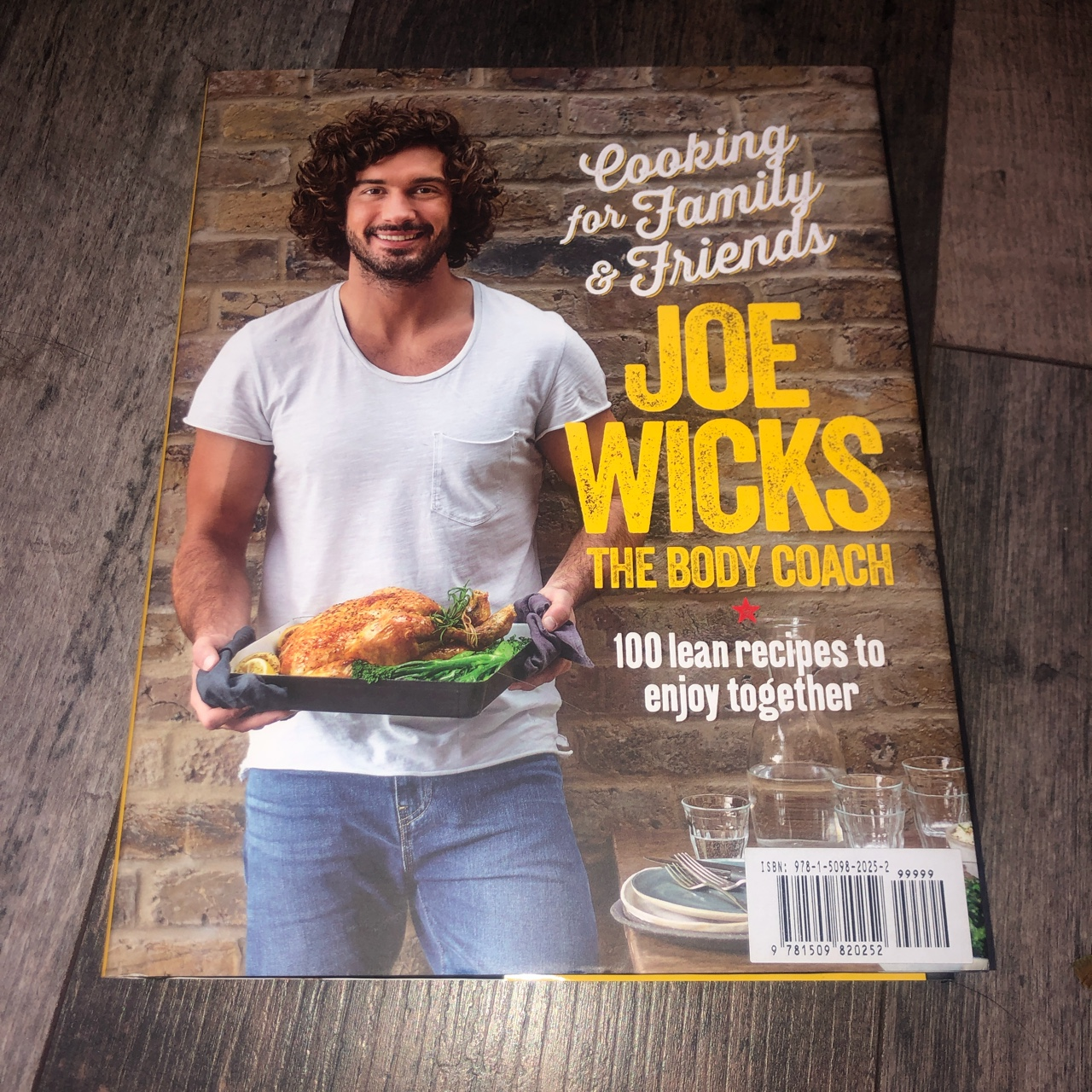 Joe Wicks Cook Book Cooking For Family Depop