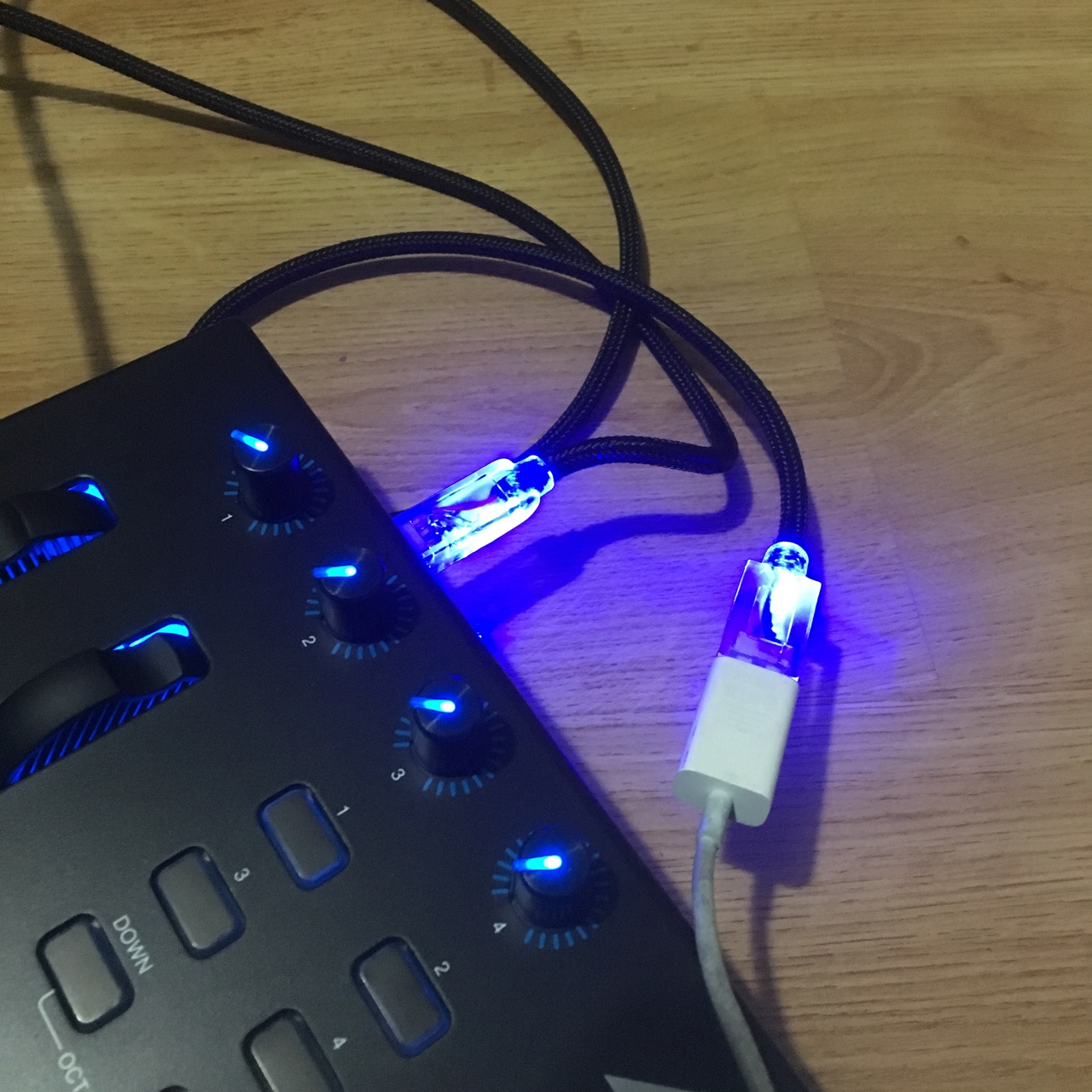 6ft USB 2.0 A-B Purple Cable