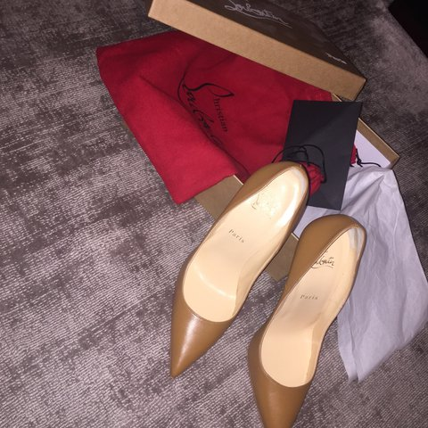 d4685681f4d4 MUST GO Authentic Christian Louboutin  So Kate  pigalles on - Depop