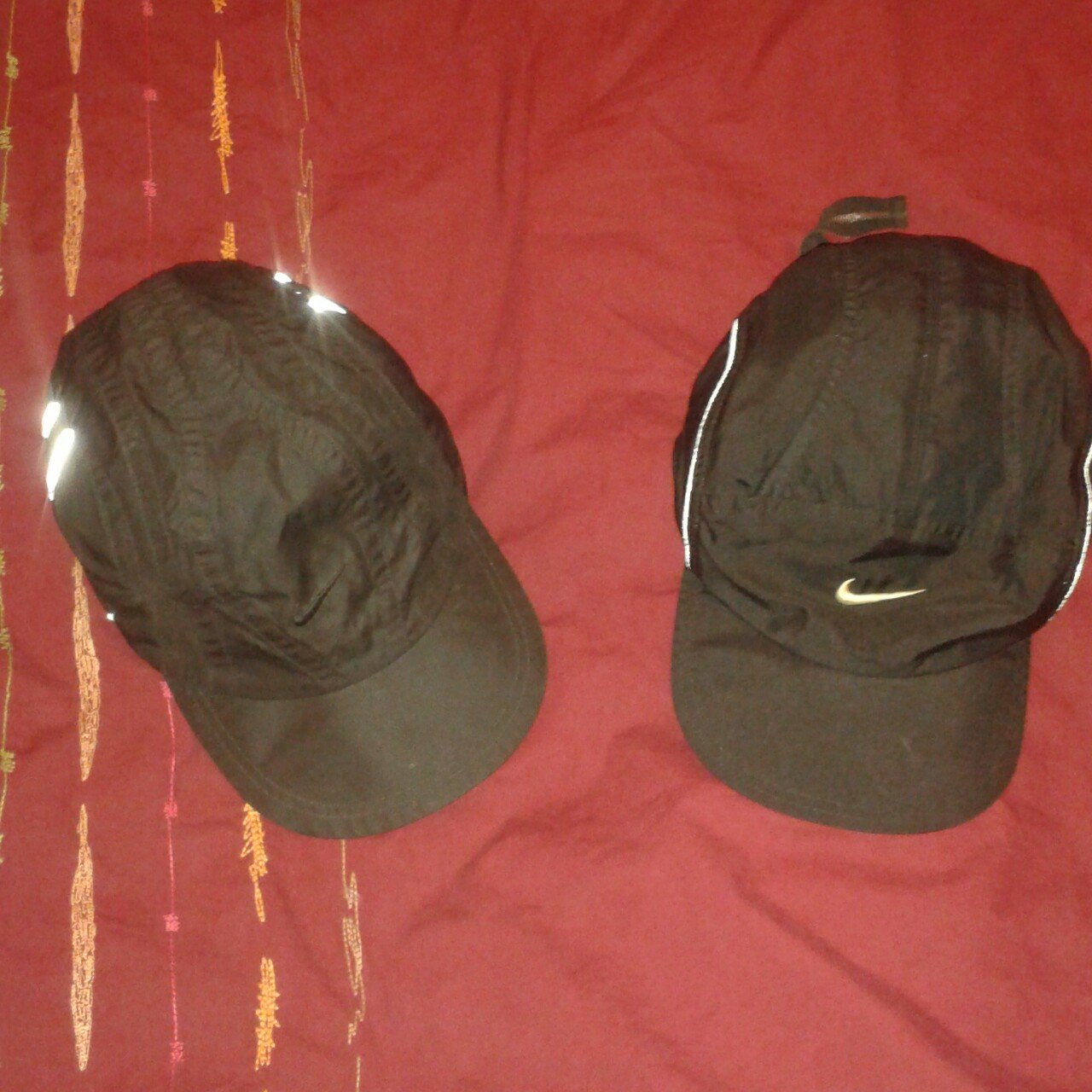 Vinatge all black nike clima fit hats with floppy to tn and - Depop f4960cf5f80