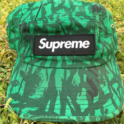 2a2a89666fb 🔥🙏 Rare Supreme strapback camp hat 🙏😈🔥    50% OFF    - Depop