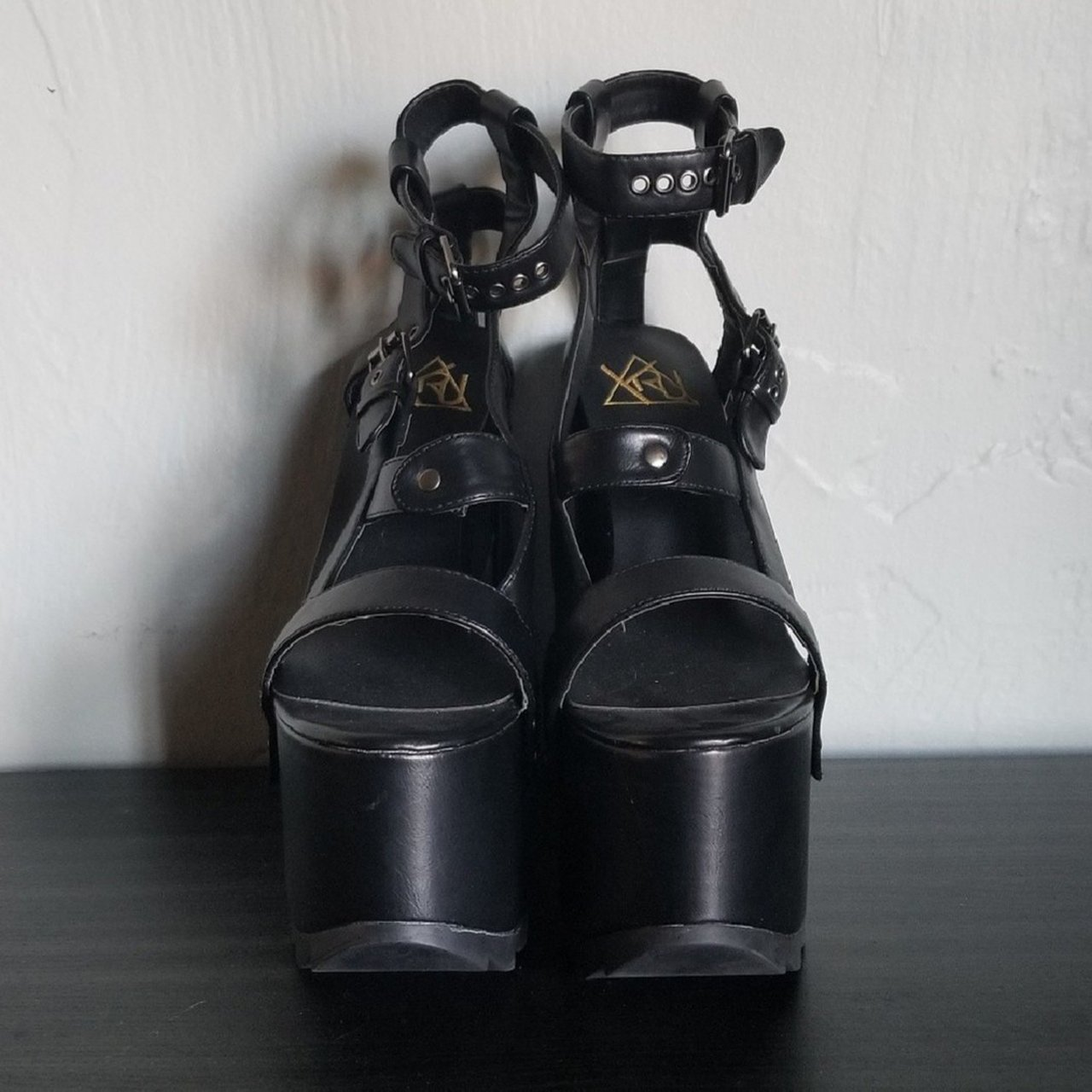 7f680c02e25 Price down!!!YRU qozmo sky platforms💖Just wore once in an a - Depop
