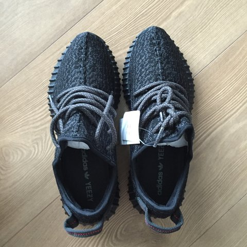 5d23f3864ca9d Adidas Yeezy boost 350 pirate black