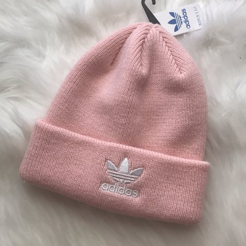 df56c3a89d0 Adidas originals icey pink beanie hat cap SEND ME ANY KINDS - Depop