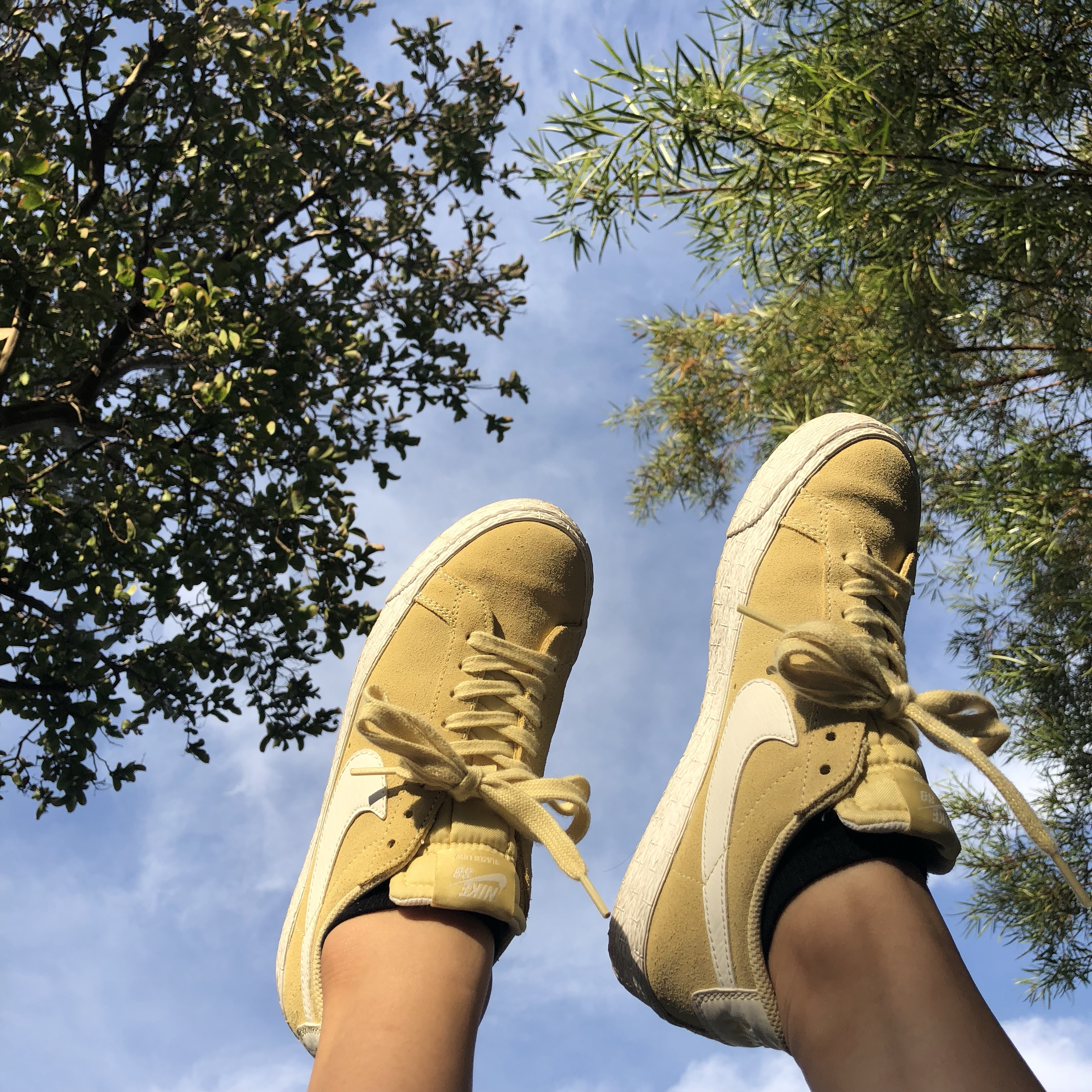 latest later attractive price NIKE sb blazer low - lemon wash 🍋🍋 super cute yellow ...