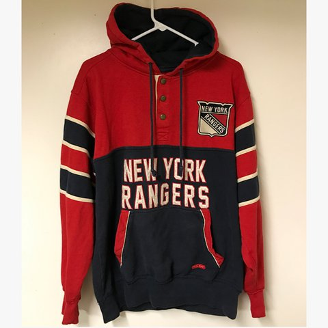 7fa120eb @steezysteve. 2 years ago. Davison, United States. New York Rangers NHL Old  Time Hockey Causeway Collection Hoodie condition perfect