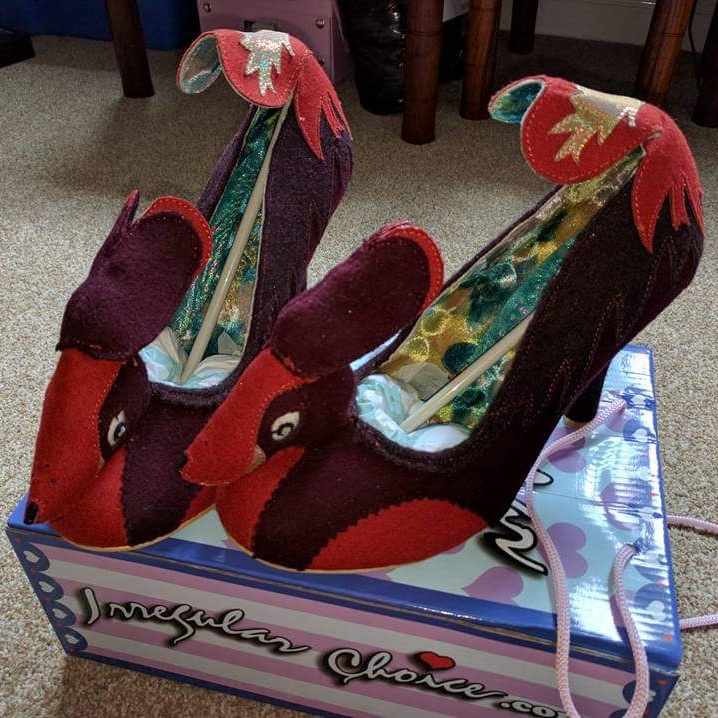 Irregular Choice Stanley Shoes. Size 43
