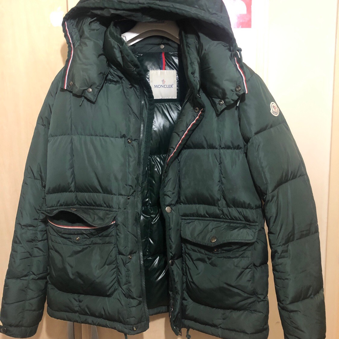 36bab4a1c Authentic Moncler Vernet Puffer Jacket in Emerald... - Depop