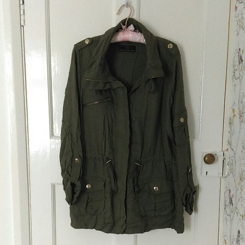280e2d186b2 Lovely New Look combat military style jacket. Size 12