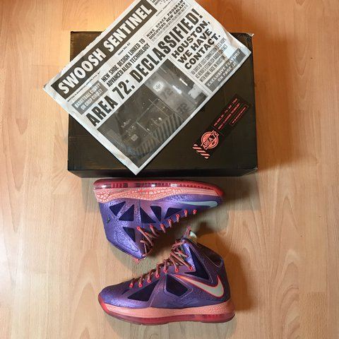 factory authentic 78472 af04e  kicks n ree. 11 months ago. Rochdale, United Kingdom. Brand new Rare Nike  Lebron X 10 Area 72 ...