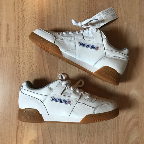 864bcc9e0846 Brand new Reebok Workout Plus Sample uk8.5 RRP £74.99. From - Depop