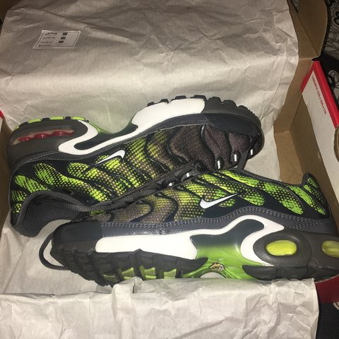 54a1df2765 Nike Air max plus reflective TN's. Worn about 2/3 times, as - Depop