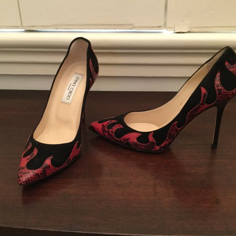 f369e4c45dc Gorgeous Jimmy Choo size 37. Open for offer. Contact me for - Depop