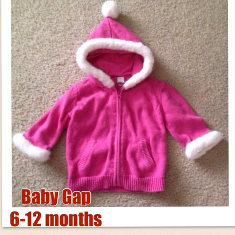 ef75054b4 Baby gap brand- hoodie   hooded jacket   sweater top for I I - Depop