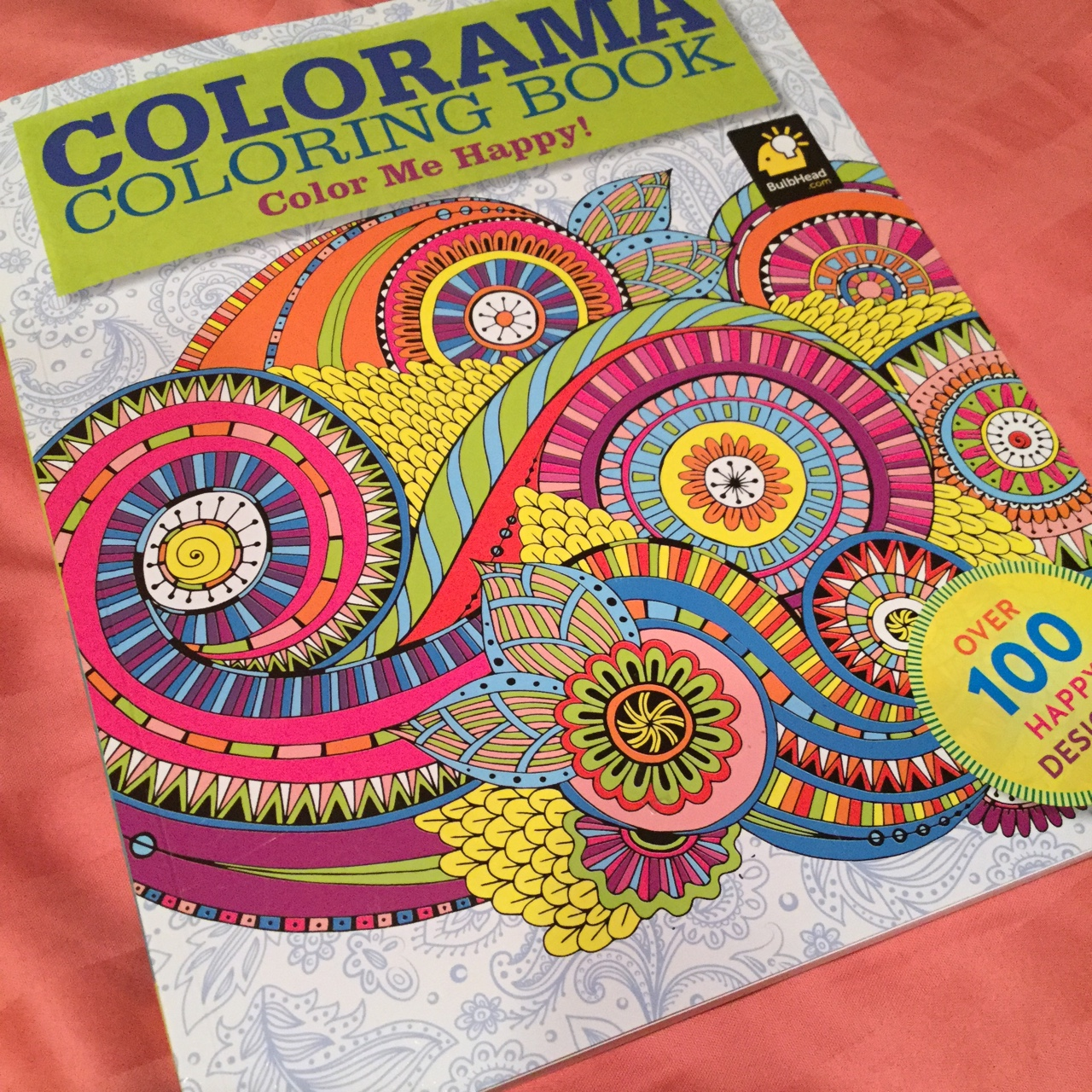 Flowers Paisley, I color from the Colorama Coloring Book !   Zoey ...   1280x1280