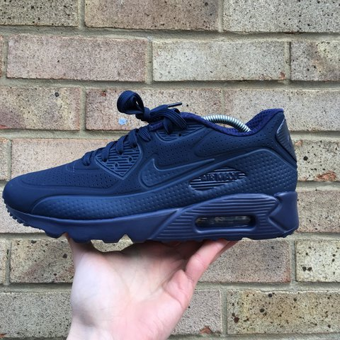 the best attitude 1700d fae13  lukehood . 2 years ago. Middlesbrough, UK. 💥PRICE DROP💥 Men s Nike Air  Max 90 Ultra Moire  Midnight Navy Mid ...