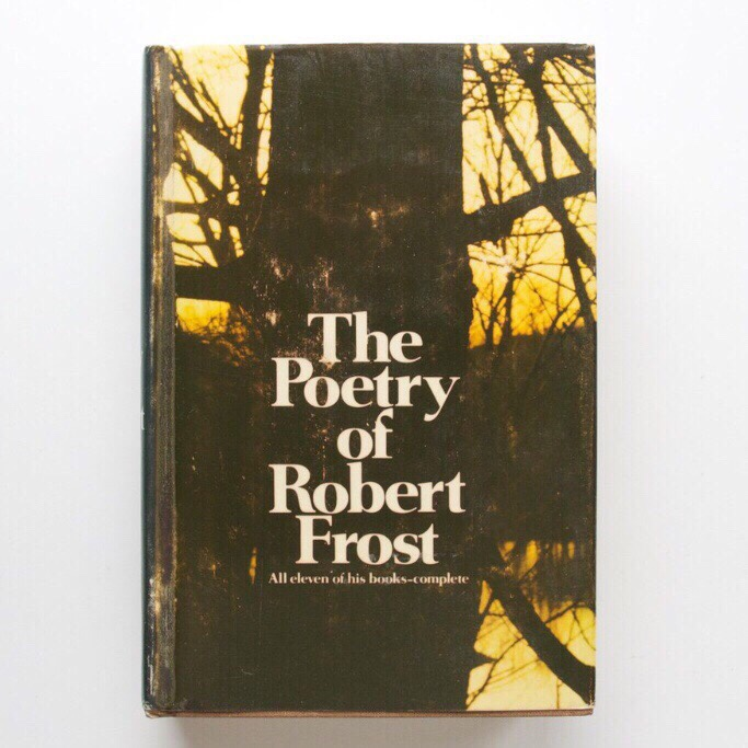 The Poetry of Robert Frost - 1969 - First Edition    - Depop
