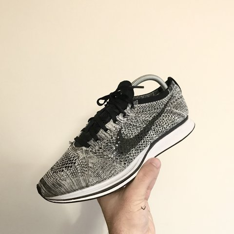 19f0e66c692d0 Nike Oreo flyknit racer 7 10 condition