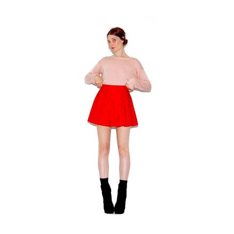 46a499d86 @blackmoonsky. 8 months ago. San Diego, United States. vintage RED TENNIS  SKIRT super flattering high waisted ...