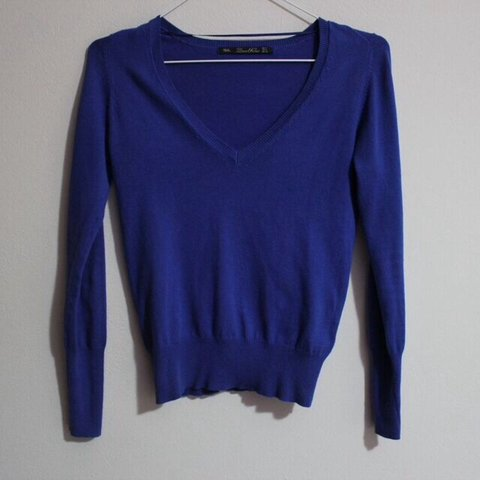 58fb488d Zara knit sweater size S I'm 5'6 and it's kinda cropped. The - Depop