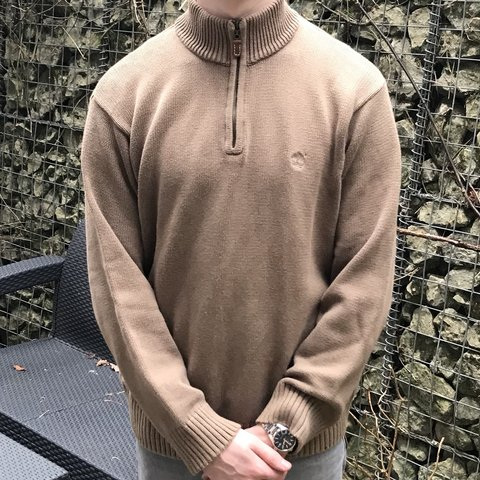 c1fcbf2c0 Vintage timberland 1 4 zip knitted style jumper