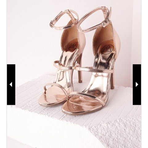 37494683f @aibhlz. 4 years ago. Kerry, Co. Kerry, Ireland. Gorgeous, three strap, barely  there, rose gold heeled sandals.