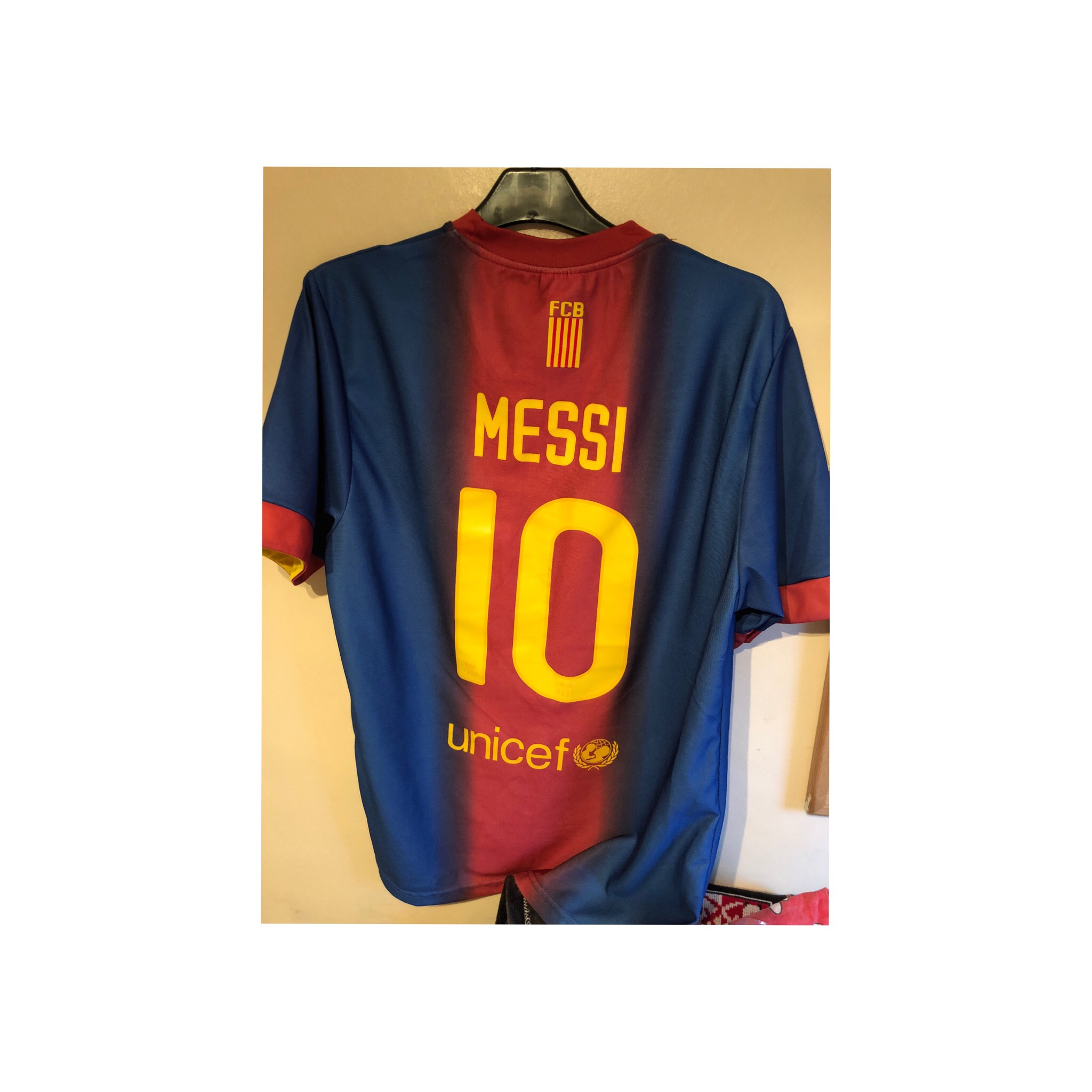 online retailer d41fb 658d0 Barcelona home 2012/13 kit. Good condition with... - Depop