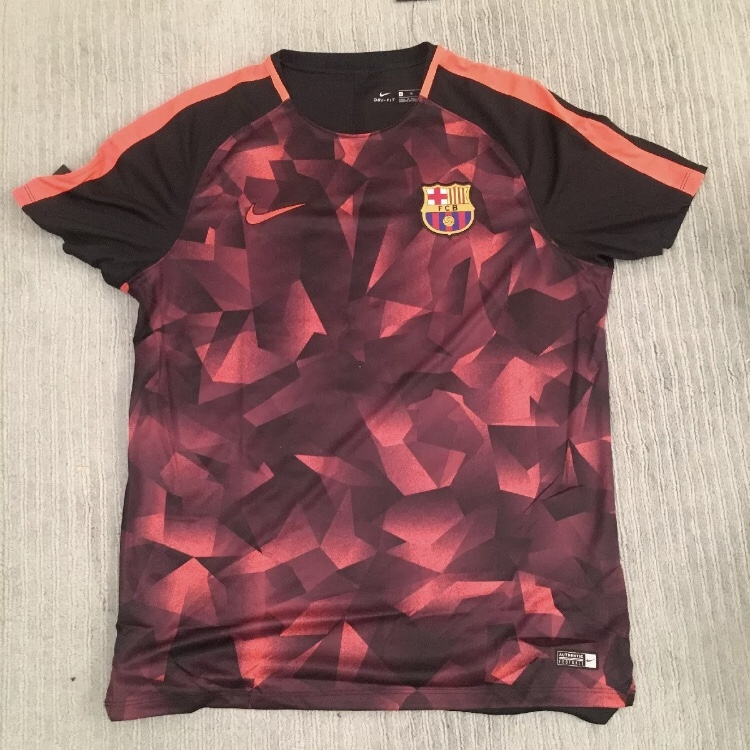 sale retailer e0cbc 97481 Barcelona training pre match shirt 2017/2018 BNWT... - Depop