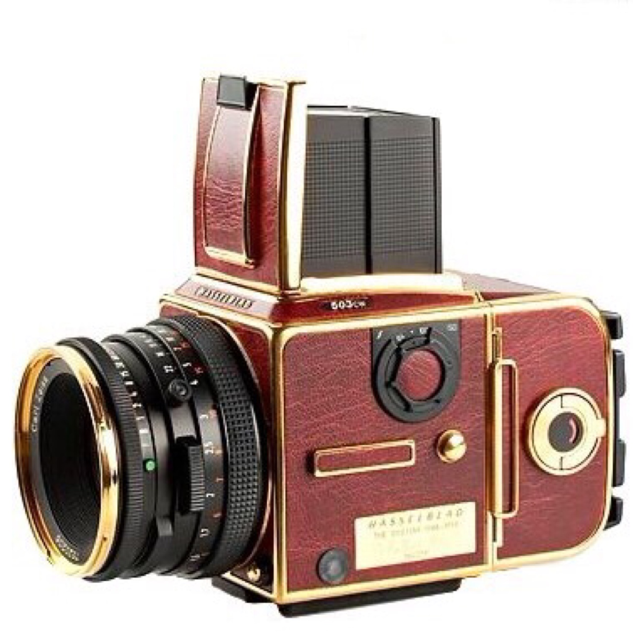 HASSELBLAD 503CW Gold Supreme Edition!! 50th    - Depop