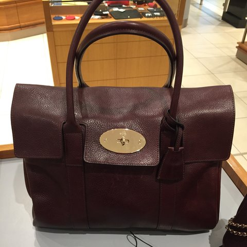 0e1f4489cd1a Wanted replica mulberry Bayswater oxblood - Depop
