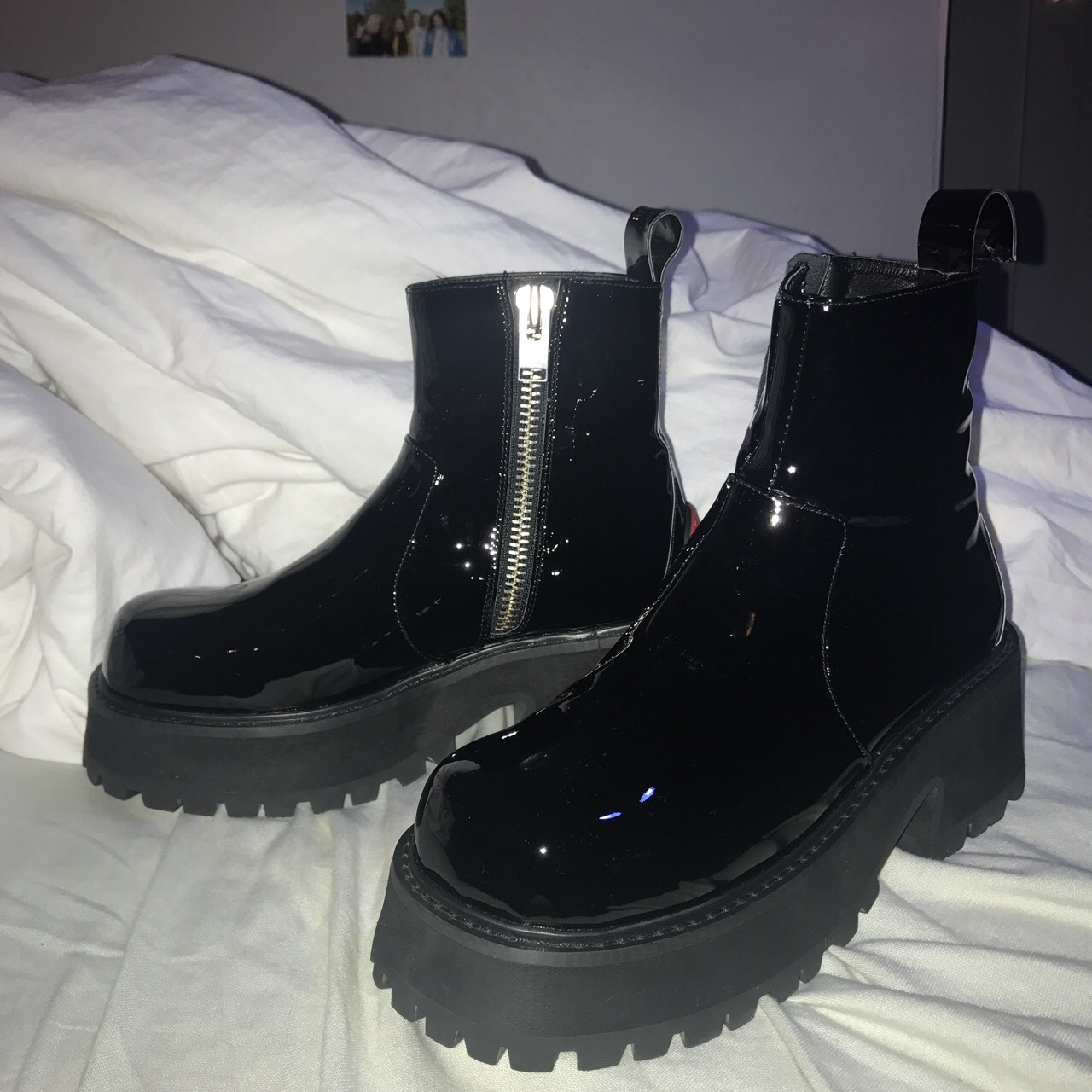 Unif Dada Boots size 8. I usually wear