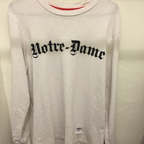 Supreme Notre Dame Long Sleeve Retail Was 80 Looking For I Depop