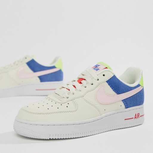 Nike Air Force 1 Low in 'Panache'. Worn