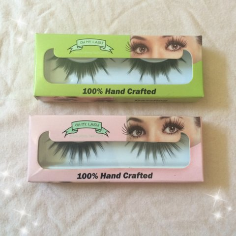 ccbf9aeaee0 Brand new oh my lash! 100% synthetic eyelashes💖 you can 4-7 - Depop